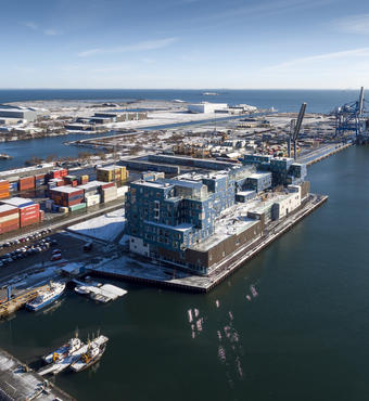 Luftfoto af Copenhagen International School Foto: Adam Mørk