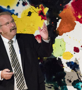 Professor Ib Chorkendorff fortalte om centrets virke