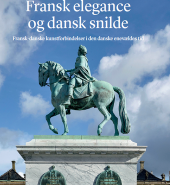 "The title of the book is ""Fransk elegance og dansk snilde - Fransk-danske kunstforbindelser i den danske enevældes tid"" (French elegance and Danish ingenuity - French-Danish artistic relations during the period of absolute monarchy in Denmark)."