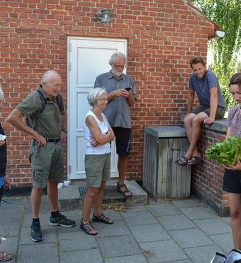 Besøg hos Tisvilde Fødevareselskab. Foto Jens Erik Larsen
