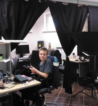 Polen: I multimedieværkstedet producerer unge autister websites, fotos og andre multimedieprodukter.