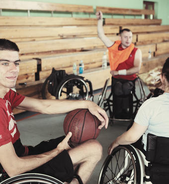 Poland: The intensive training program for young people with disabilities include some sporting activities