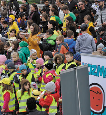 Slovakia: Every year the organisation Centrum Slniecko campaign in the streets with the message that violence against children must be prevented