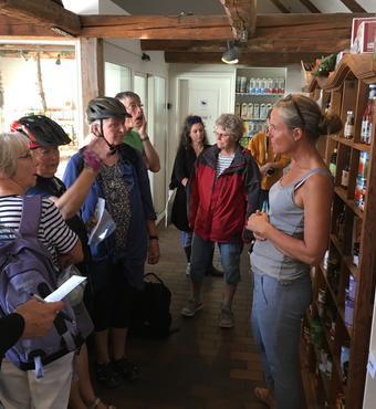 Gårdbutikken på det økologiske landbrug Fredebogård
