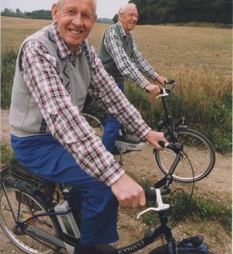 Tvillinger er blevet fotograferet og aldersbestemt i Kaare Christensens aldringsforskning. Foto: Nils Mogensen