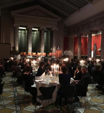 The Daylight Award ceremony in fairytale settings at Ny Carlsberg Glyptotek. Photo: Zevegraf