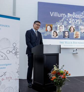 Chair of VILLUM FONDEN, Jens Kann-Rasmussen, delivered a speech.