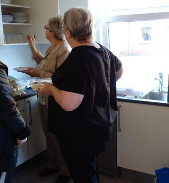 The new kitchen in Tinglev-Uge is very popular