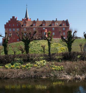 Tranekær Slot vil huse udstillingen om bier og biavl i de næste mange år. Foto:Fotolangeland