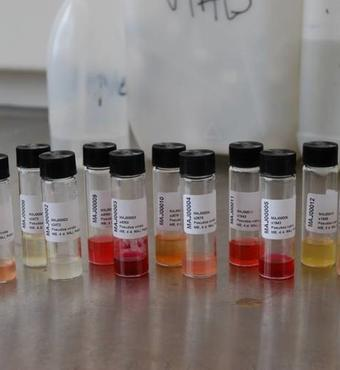 Ekstrater fra dyrkning af Pseudoalteromonas