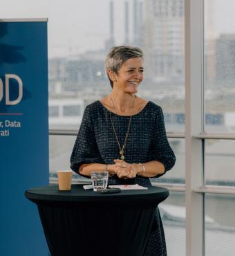 Margrethe Vestager, næstformand EU-Kommissionen, taler om de demokratiske og etiske udfordringer ved teknologierne, og hvordan vi regulerer dem