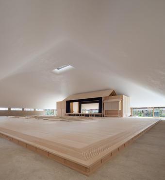Naoshima  Hall. ©Shigeo Ogawa. Owner: Naoshima Town
