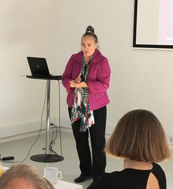 Oplæg ved ph.d. Aase Marie Ottesen fra Aalborg Universitet, Institut for Kommunikation.