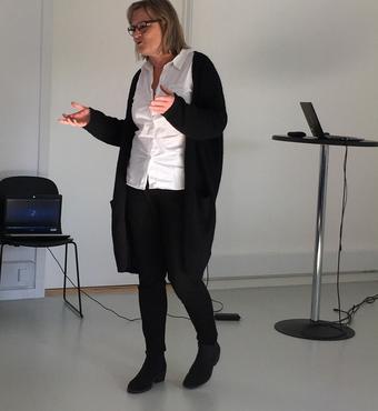 Oplæg ved ph.d. Jette Thuesen fra Videncenter for Rehabilitering og Palliation (REHPA)