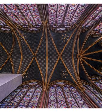 The ceiling is an experience in itself. Photo: Jens Markus Lindhe