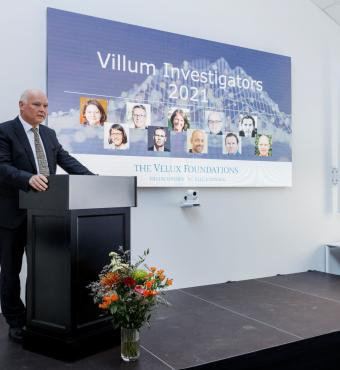 VILLUM FONDEN's Executive Chief Scientific Officer, Thomas Bjørnholm, delivered a welcome speech.