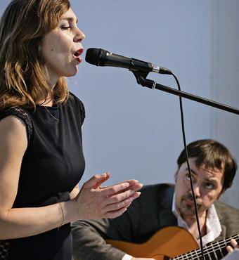 Musik ved Camilla Marie Dahlgreen og Alejandro Sancho. Foto: Simon Knudsen